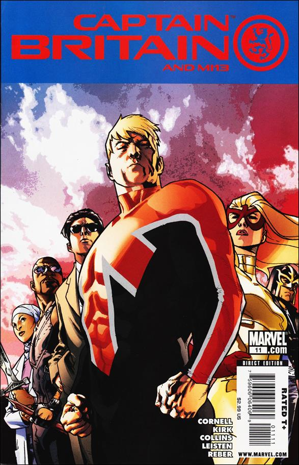 Captain Britain and MI13 11-A by Marvel