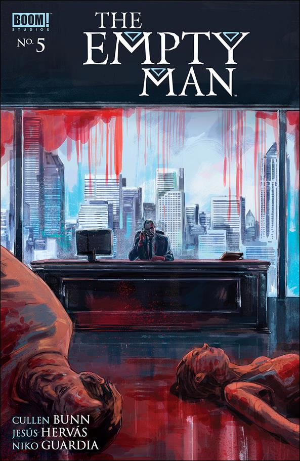 Empty Man (2018) 5-B by Boom! Studios