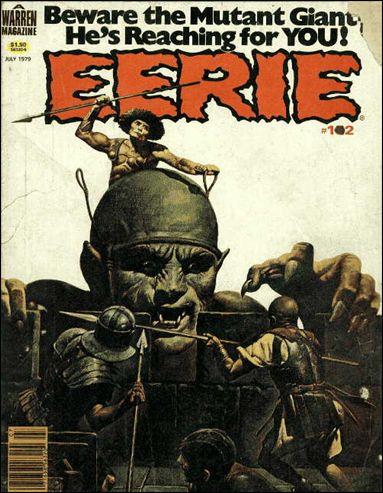 Eerie 102-A by Warren