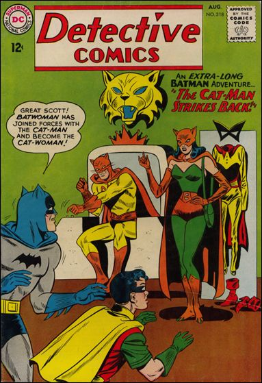 Detective Comics (1937) 318-A by DC