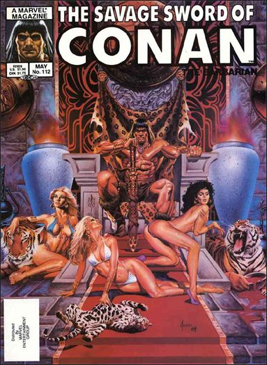 Savage Sword of Conan (1974) 112-A by Marvel