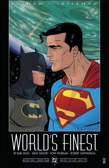 Batman and Superman: World's Finest 10-A by DC