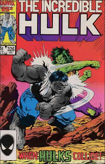 Incredible Hulk (1968) 326-A by Marvel
