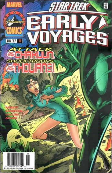 Star Trek: Early Voyages 10-A by Marvel