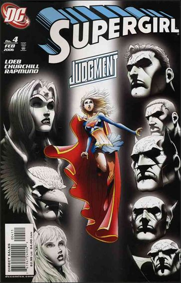 Supergirl (2005) 4-A by DC