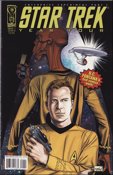 Star Trek Year Four: Enterprise Experiment 1-A by IDW