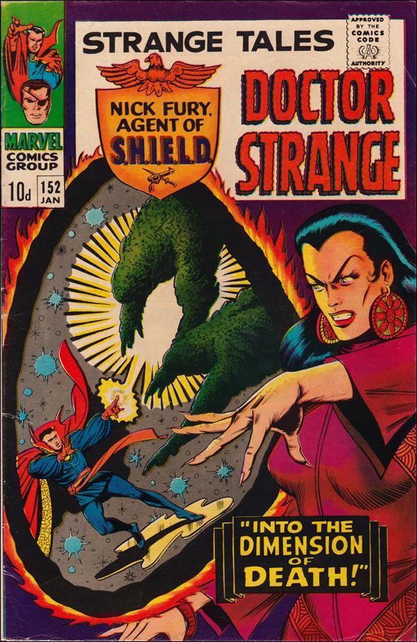 Strange Tales (1951) 152-B by Marvel