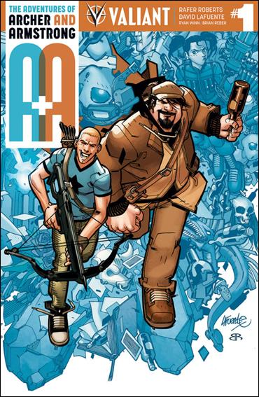 A&A: The Adventures of Archer & Armstrong 1-A by Valiant Entertainment