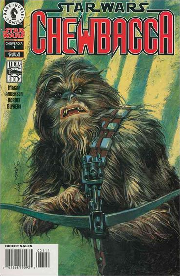 Star Wars: Chewbacca 1-A by Dark Horse