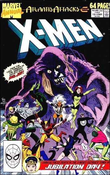 Uncanny X-Men Annual (1970) 13-A by Marvel
