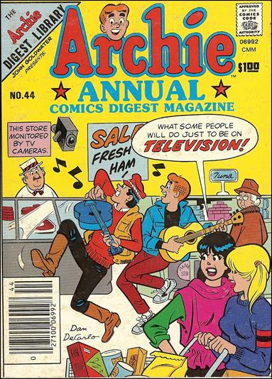 Archie Annual Digest Magazine 44-A by Archie