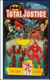 Total Justice Flash (Velocity Power Suit) by Kenner