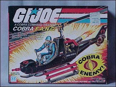 "G.I. Joe: A Real American Hero 3 3/4"" Basic Vehicles and Playsets F.A.N.G. (Cobra Gyrocopter) by Hasbro"
