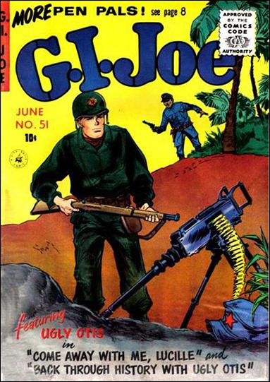 G.I. Joe (1951) 51-A by Ziff-Davis