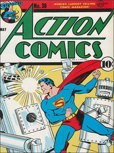 Action Comics (1938) 36-A by DC