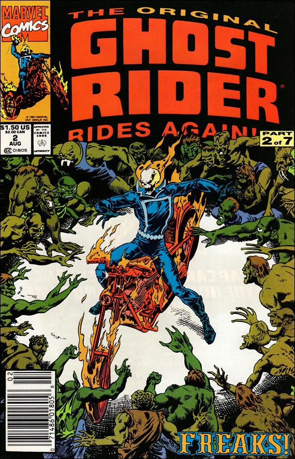 Original Ghost Rider Rides Again 2-A by Marvel