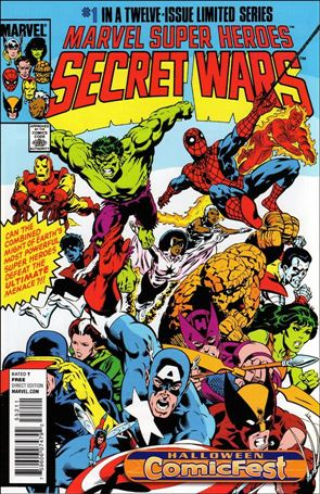 Marvel Super Heroes Secret Wars 1-F
