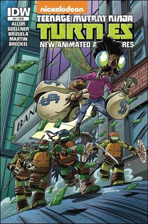 Teenage Mutant Ninja Turtles New Animated Adventures 21-A