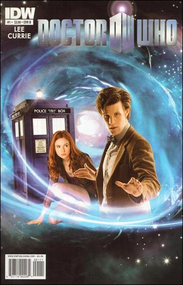 Doctor Who (2011) 1-B by IDW