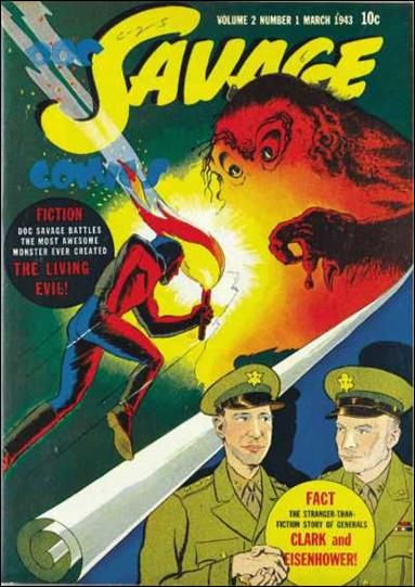 Doc Savage Comics (1943) 1-A by Street and Smith Publications