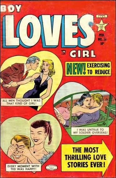 Boy Loves Girl 31-A by Lev Gleason Productions