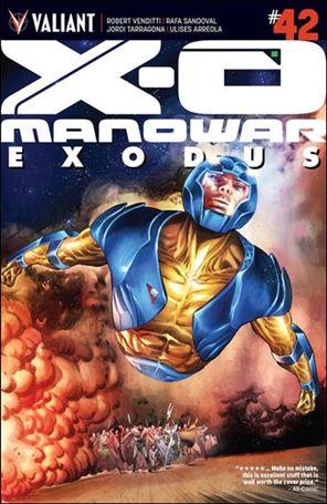X-O Manowar (2012)  42-A