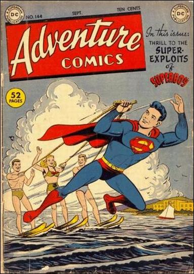 Adventure Comics (1938) 144-A by DC