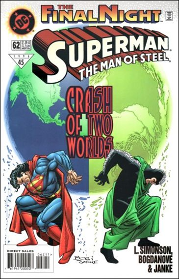 Superman: The Man of Steel 62-A by DC