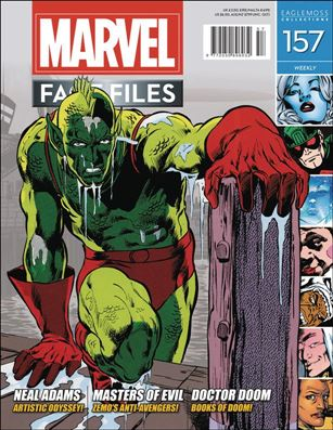 Marvel Fact Files 157-A