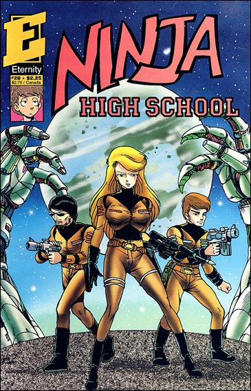Ninja High School 28-A by Antarctic Press
