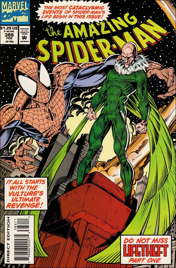 Amazing Spider-Man (1963) 386-A by Marvel