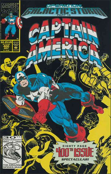 Captain America (1968) 400-A by Marvel