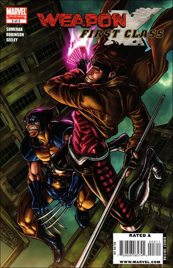 Weapon X: First Class 3-A by Marvel