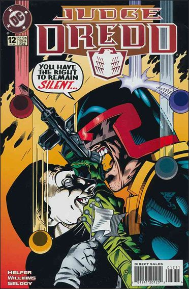 Judge Dredd (1994) 12-A by DC