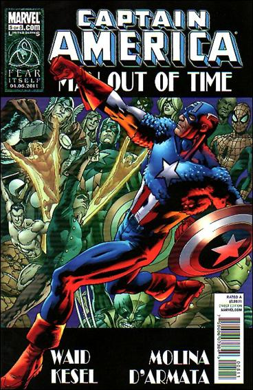 Captain America: Man Out of Time 5-A by Marvel