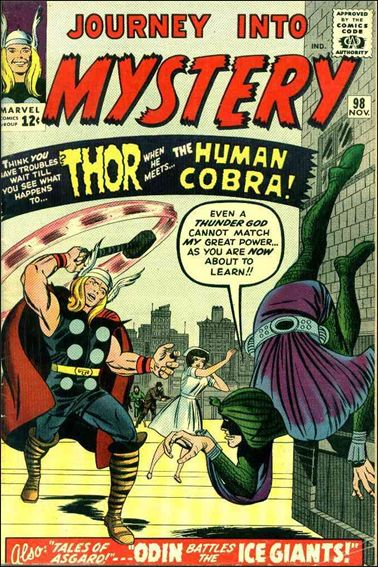 Journey into Mystery (1952) 98-A by Marvel