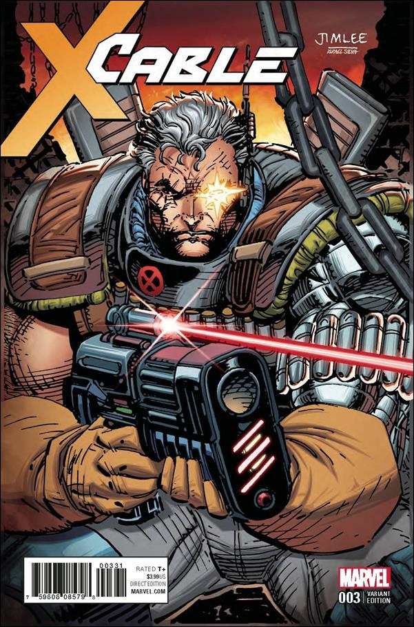 Cable (2017) 3-B by Marvel