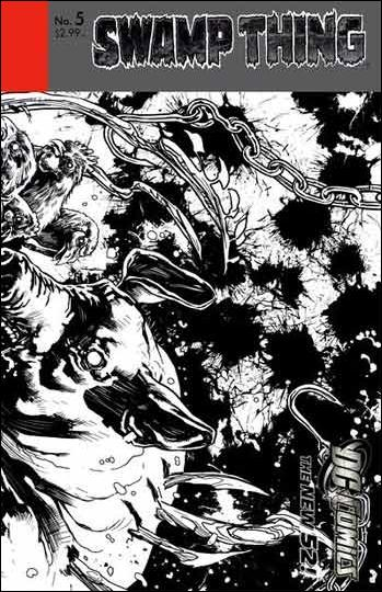 Swamp Thing (2011) 5-B by DC
