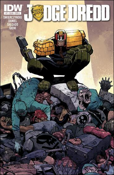 Judge Dredd (2012) 7-A by IDW