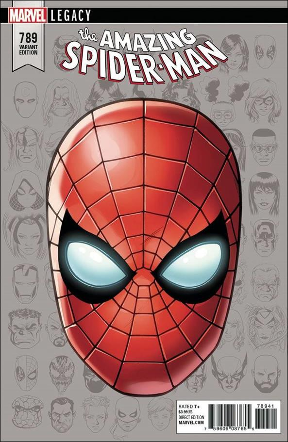 AMAZING SPIDER-MAN #789 STANDARD COVER