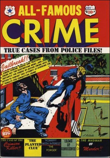 All-Famous Crime '9'-A by Star Publications