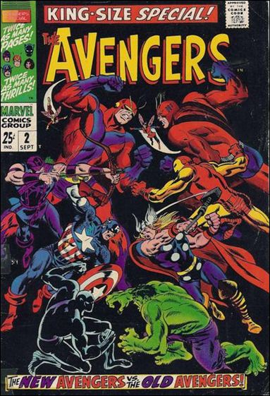 Avengers Annual 2-A by Marvel