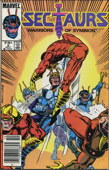 Sectaurs (1985) 3-A by Marvel