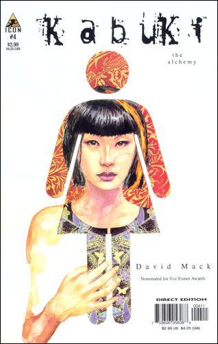 Kabuki (2004) 4-A by Icon