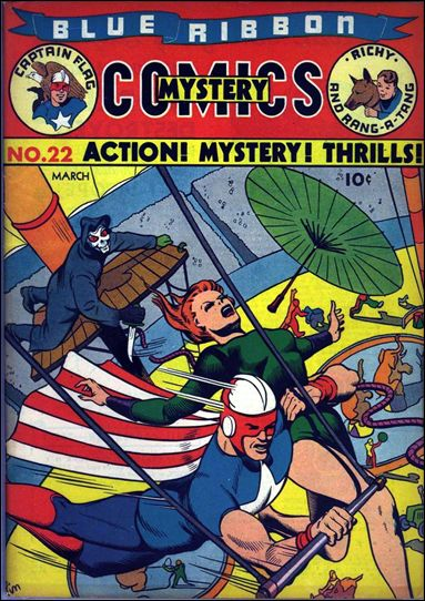 Blue Ribbon Comics (1939) 22-A by MLJ