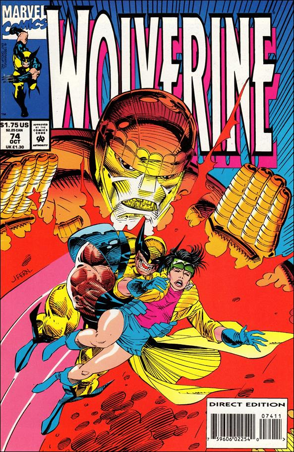 Wolverine (1988)  74-A by Marvel