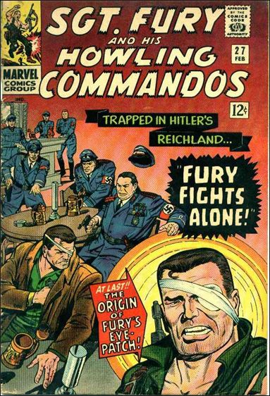 Sgt. Fury and His Howling Commandos 27-A by Marvel