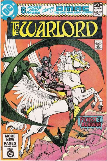 Warlord (1976) 39-A by DC
