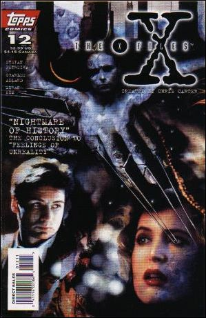 X-Files (1995) 12-A by Topps