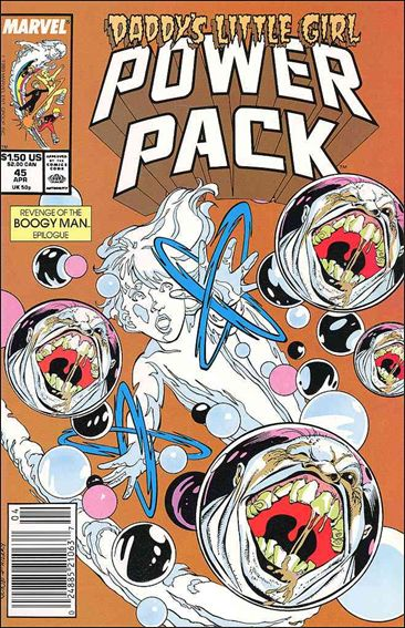 Power Pack (1984) 45-A by Marvel